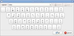 Keyboard Layout Window